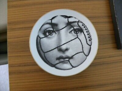 Piero Fornasetti Plate By Rosenthal, Motif 36, 1980s • 175£