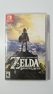 $37.99 • Buy Nintendo SWITCH Legend Of Zelda Breath Of The Wild Game. Used Very Good