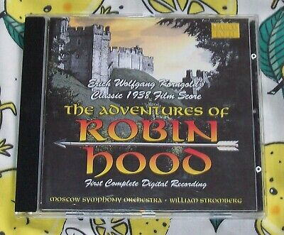 The Adventures Of Robin Hood (cd-2003) Erich Wolfgang Korngold • 1.99£