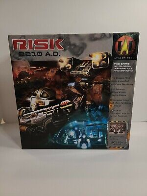 $19.99 • Buy Risk 2210 AD Board Game Avalon Hill 2007 Edition Global Domination Complete