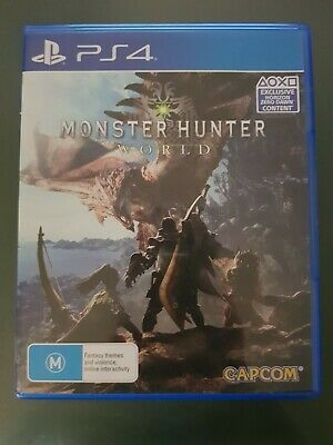 AU19.99 • Buy Monster Hunter World For PS4 Playstation 4 In Very Good Conditions