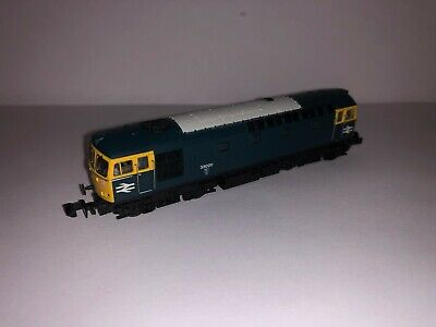 2D-001-005D Dapol N Gauge Class 33/0 33020 BR Blue DCC Fitted *Brand New* • 50£