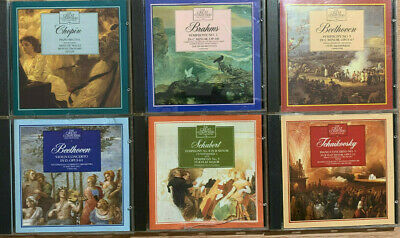 The Great Composers 1-6 CD's • 0.99£
