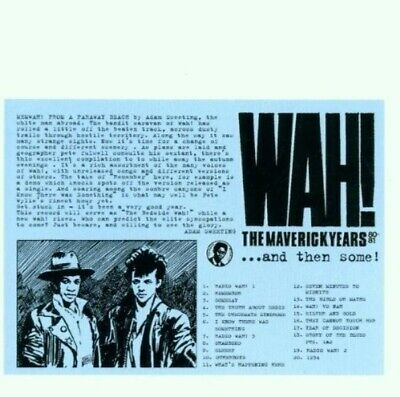 The Mighty Wah! - The Maverick Years '80-81 (2001) Pete Wylie • 24.95£