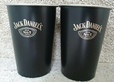 Rare Official Jack Daniels Retro Old No. 7 Stainless Steel Cup Brand New  • 29.99£