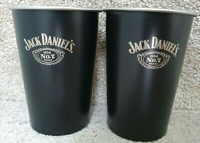 £29.99 • Buy Rare Official Jack Daniels Retro Old No. 7 Stainless Steel Cup Brand New