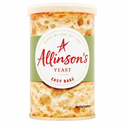 Yeast By Allinsons   1 X 100g Easy Bake Yeast   Fast Action Yeast   Same Day • 3.99£