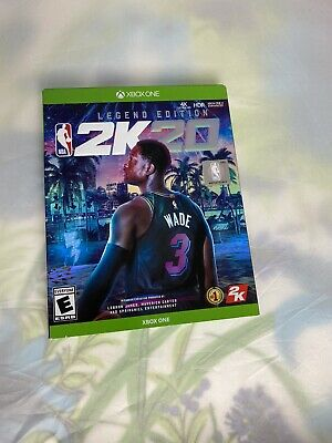 $ CDN85.63 • Buy NBA 2k20 Xbox One Legend Edition (brand New) With Codes