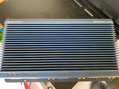$ CDN535.80 • Buy Factory Recondition Soundstream Reference 405 5 Channel Amplifier,Rare,USA,SQ