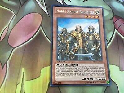 Noble Knight Brothers PRIO EN081 Secret Rare 1st Edition Yugioh  • 4.85£