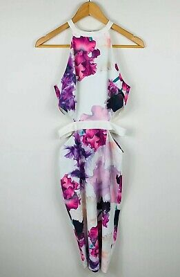 AU24.95 • Buy Tiger Mist Womens Dress Size Small Floral Multicoloured Cocktail Party Dress