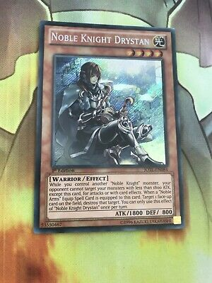 Yugioh-Noble Knight Drystan-Secret Rare- 1st Edition-JOTL EN084 NM • 5.25£