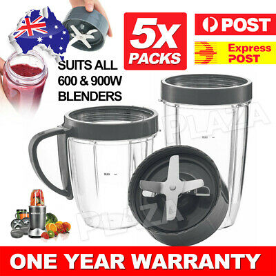 AU20.85 • Buy Extractor Blade Colossal Cups For Nutribullet Blender 600 900w Replacement Parts