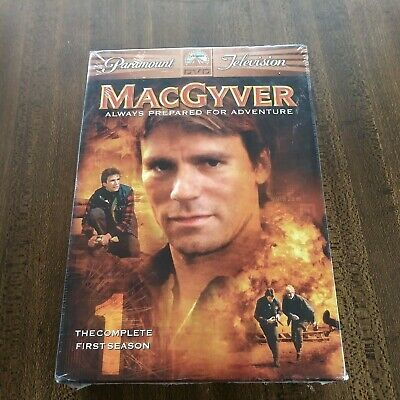 $5 • Buy MacGyver: The Complete First Season (6-Disc Set) Original 1985 Series  DVD NEW
