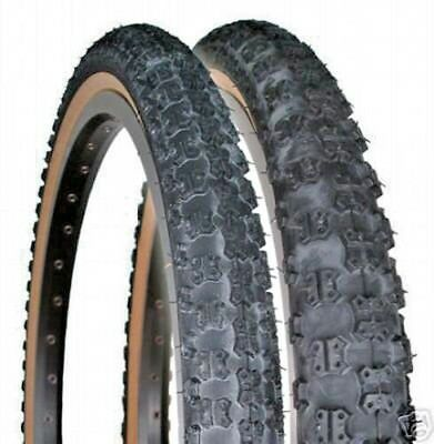 TWO HIGH QUALITY BMX OFF-ROAD TIRES 57-406 20x2.125 TIRES