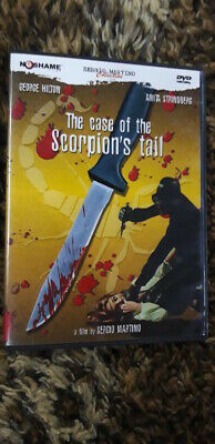 The Case Of The Scorpions Tale - No Shame Dvd-rare-sergio Martino Great Giallo! • 5.99£