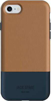 Jack Spade Color Block Case Tan Navy For Iphone 7 8 SE 2020 4.7  • 9.95£