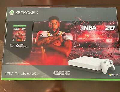 $390 • Buy Microsoft XBOX ONE X 1TB HyperSpace Limited Edition NBA 2K20 Bundle Brand NEW