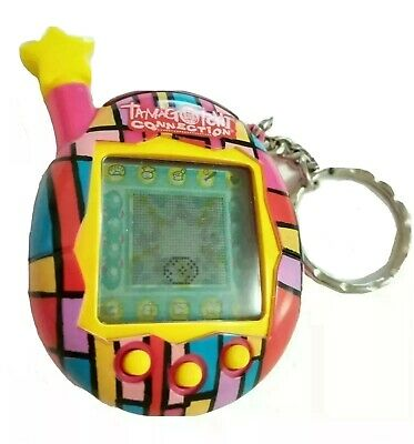 $ CDN85 • Buy TAMAGOTCHI CONNECTION V4.5 Pink Stained Glass 2004 BANDAI *EXCELLENT Condition!