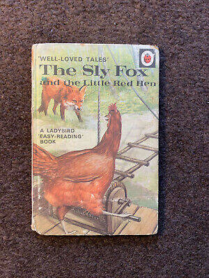 Ladybird Series 606D - The Sly Fox And Little Red Hen • 4£