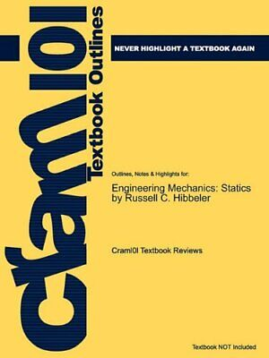 Studyguide For Engineering Mechanics: Statics By Hibbeler, Russell C., I<| • 32.21£