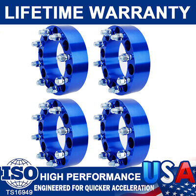 AU300.54 • Buy 4Pc 2'' 8 Lug Wheel Spacers Adapters 8x6.5 For Chevy Silverado C/K 2500/3500 GMC