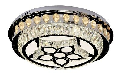 £60 • Buy Modern Crystal Signal Colour LED Celling Down Light 30W 400mm