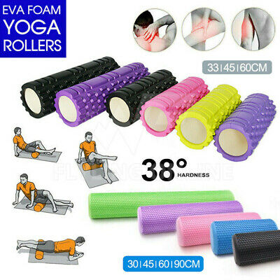 AU23.58 • Buy VIVVA Foam Roller Yoga Trigger Point Massage Pilates Physio Gym Exercise EVA PVC