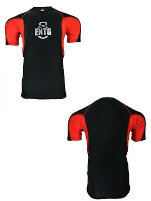 £11.99 • Buy Ento Mens Compression Armour Base Layer Top Half Sleeve Gym Sports Shirt