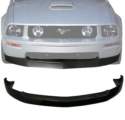$159.99 • Buy (Black PP) For 05-09 Ford Mustang V8 GT 4.6L PU Front Bumper Lip Spoiler Kit