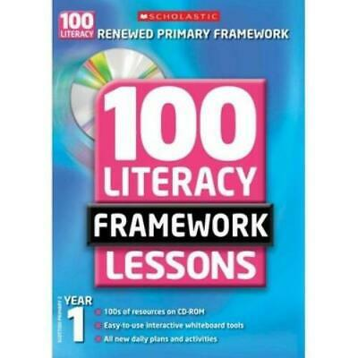 £2.68 • Buy 100 Literacy Framework Lessons: Year 1 By Jean Evans (Mixed Media Product)