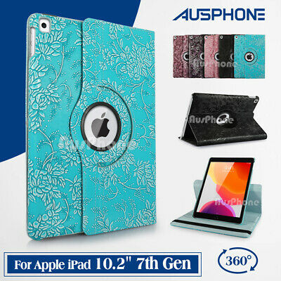 AU17.95 • Buy New Apple IPad 8th 7th Gen 10.2  Cover 360 Rotate Smart Leather Stand Flip Case