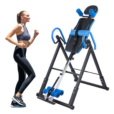 £79.99 • Buy Foldable  Gravity Inversion Table Inverting Back Support Body Board Home And Gym