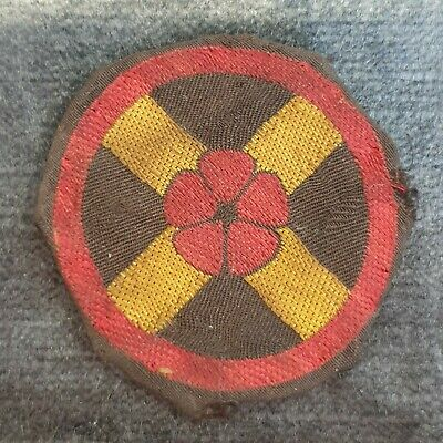 £6.99 • Buy A Ww2 Western Command Hq Div. Formation Badge, Patch. Printed