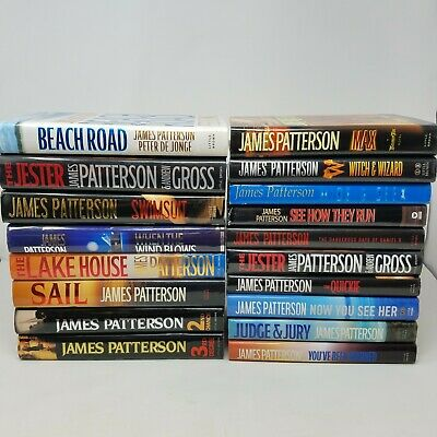 AU96.96 • Buy BIG James Patterson Hardcover Lot Of 18 - Murder Club, Stand Alone Thrillers