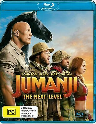 AU16 • Buy Jumanji The Next Level Blu-ray Region B NEW