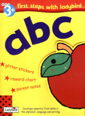 First Steps With Ladybird: Abc (Paperback / Softback) FREE Shipping, Save £s • 24.99£