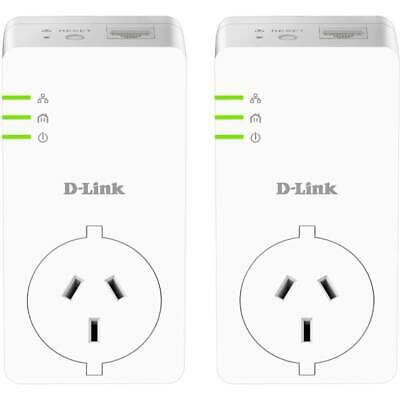 AU200.20 • Buy D-Link DHP-P601AV PowerLine AV2 1000 Gigabit Passthrough Kit