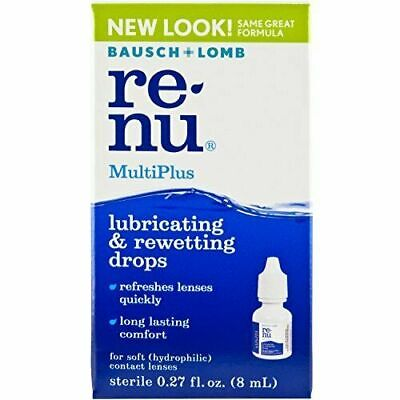 £5.11 • Buy Bausch + Lomb Renu Multiplus Lubricating And Rewetting Soft Eye Contact...