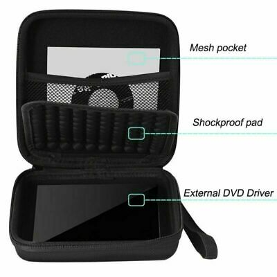 Hard Storage Case Cover Bag EVA For CD DVD Writer Blu-Ray & External Hard Drive • 7.59£