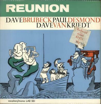 Dave Brubeck Reunion - Stickered P/s Vinyl LP Album Record UK LAE551 VOCALION • 19.95£