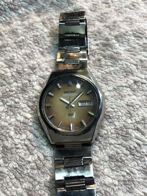 $ CDN265.08 • Buy OH, Vintage Seiko 5 Actus SS 6106-8760 Automatic 23Jewels Brown Dial Serviced