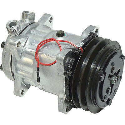 AU238.58 • Buy New 4643 Sanden Style Sd7h15  Compressor  W/ 2 Groove Clutch  1 X 14 Ftgs