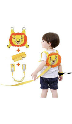 Toddler Safety Harnesses Reins, Safety Harness Lock ,Anti Lost Wrist Link • 13£
