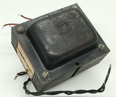 $ CDN466.62 • Buy Schumacher Vintage Fender Guitar Amplifier Power Transformer C.1962 P/N 125P7A