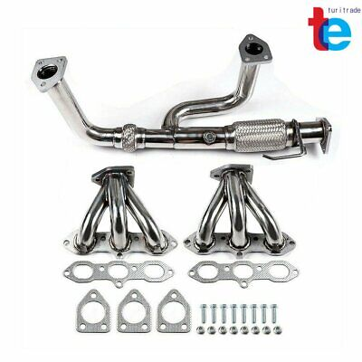 $113.47 • Buy Stainless Header Exhaust Manifold For 98-02 Accord 3.0 V6/99-03 Tl/cl