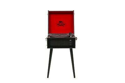 AU324.99 • Buy Funky Retro Record Player Black And Red