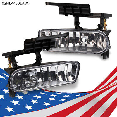 $19.97 • Buy 1X Pair Clear Bumper Fog Lights Driving Lamps For 00-06 Chevy Suburban /Tahoe