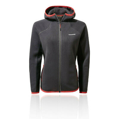 Craghoppers Womens Mannix Fleece Jacket Top - Grey Sports Outdoors Full Zip • 49.49£
