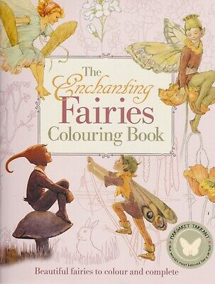 The Enchanting Fairies Colouring Book By Margaret Tarrant (Paperback) • 6.99£